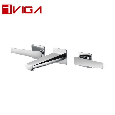 341400CH Concealed 3-hole Basin Mixer