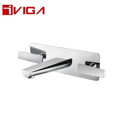 341401CH Concealed 3-hole Basin Mixer