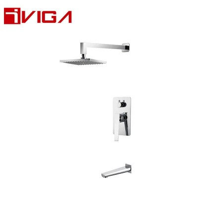 347100CH Concealed Shower Faucet Set