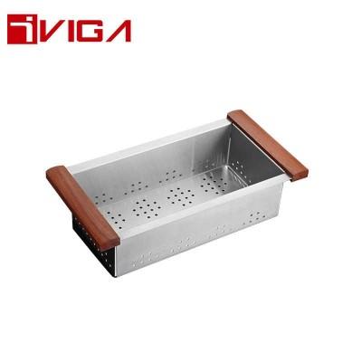 47710101BN Stainless Steel Colander