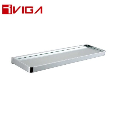 480613CH Single Layer Glass Shelf