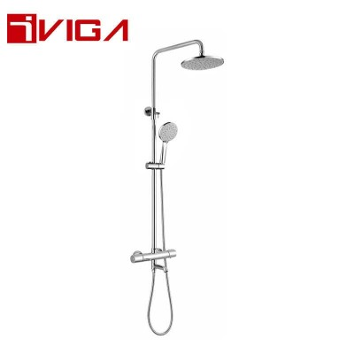 865203CH Thermostatic shower set