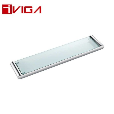481213CH Single layer glass shelf