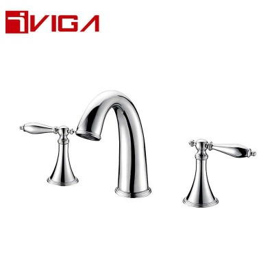 99431801CH Deck mounted 3-hole basin faucet