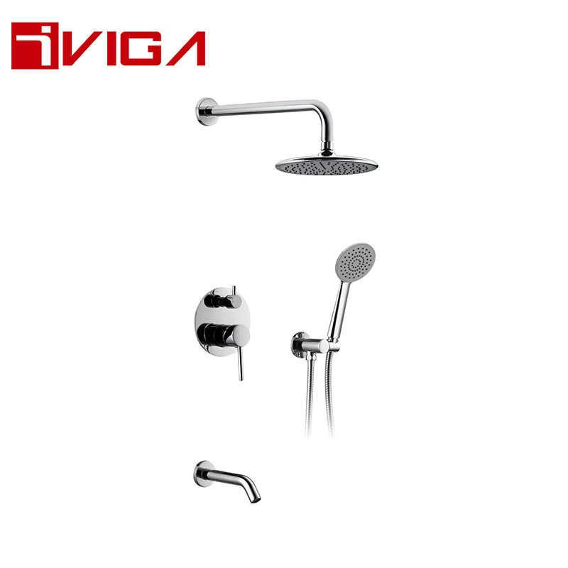 137300CH Concealed Shower Faucet Set