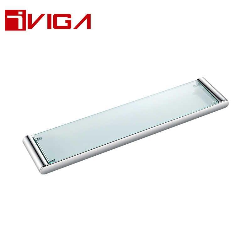 481213CH Single layer glass shelf