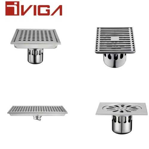 VIGA Faucet tells you how to choose a floor drainer