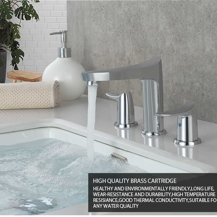 High-end faucets will gradually occupy the main market.