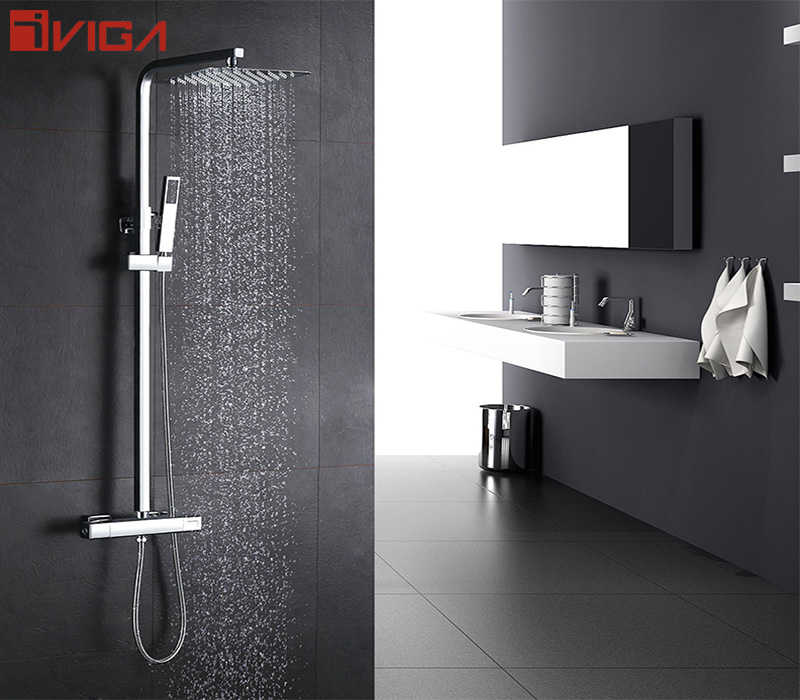 VIGA teaches you how to clean the hand shower and shower head.
