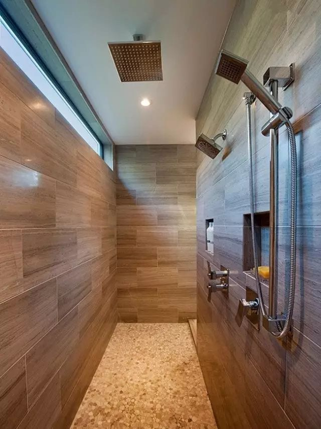 What should I do if lime scale occurs when the shower time is long? Take a look at the shower cleaning method