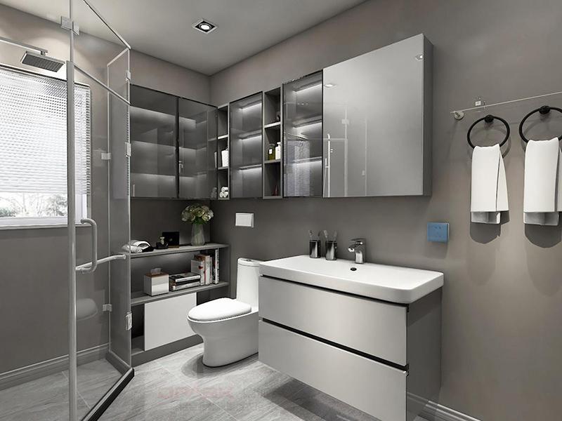 Bathroom hardware purchase method Recommended bathroom hardware matching.